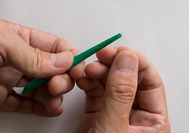 吹き矢の作り方
