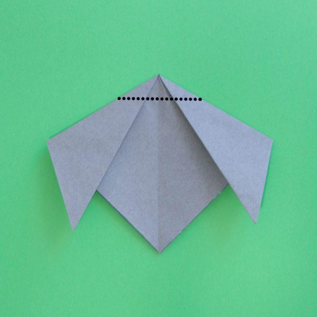 犬の折り紙