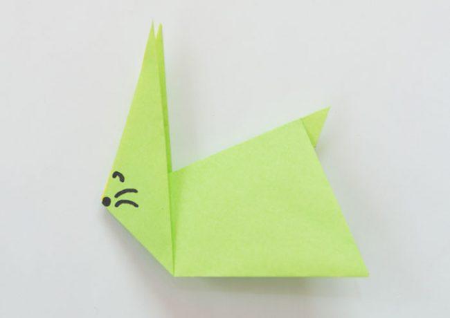 うさがいの折り紙