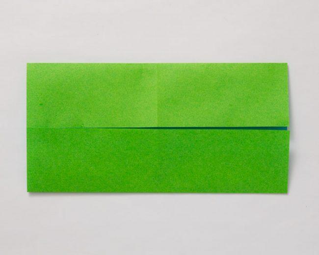 サイフの折り方