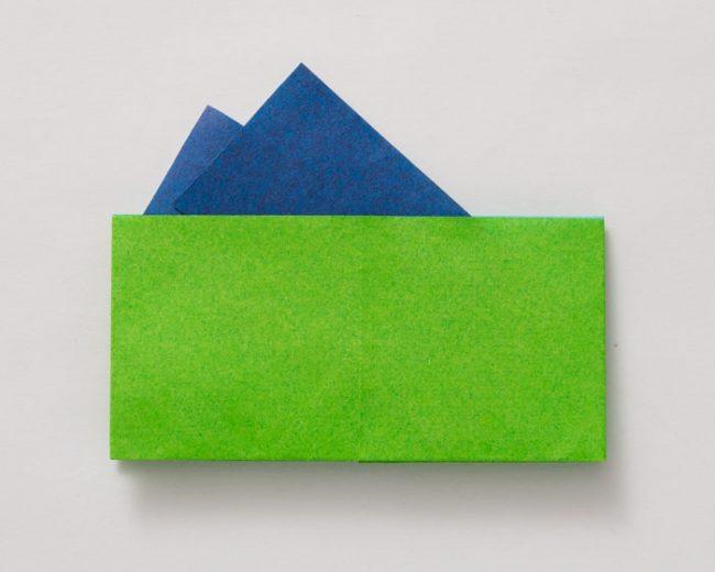 折り紙の財布