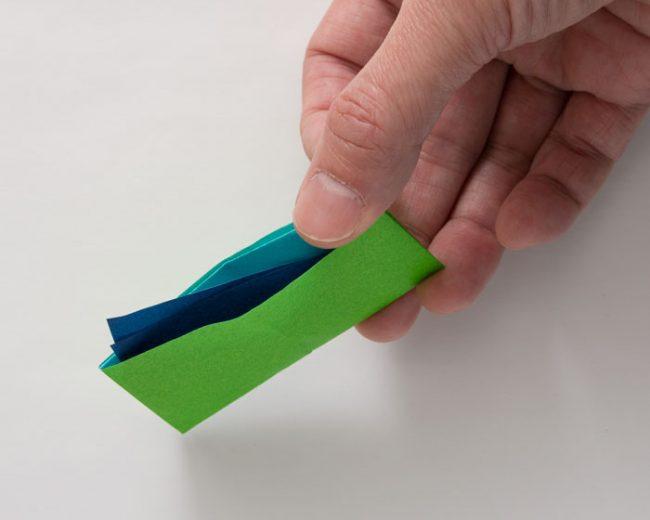 折り紙のさいふ