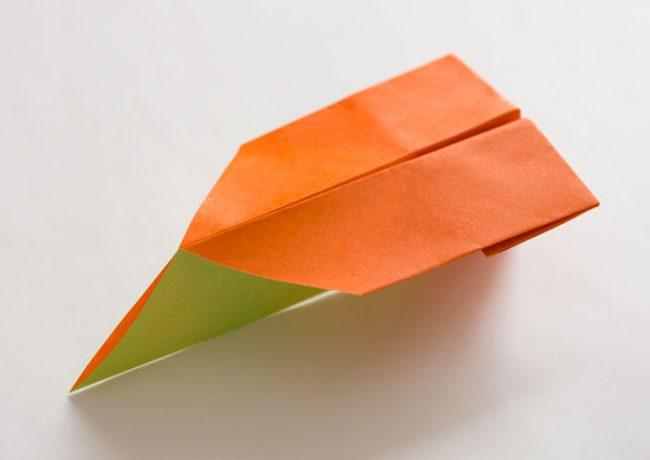 紙飛行機「まきまきひこうき」