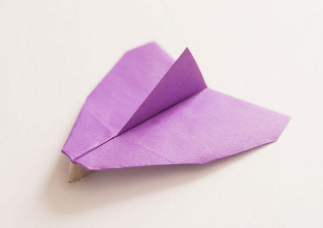 紙飛行機「スライダー」