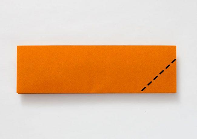 折り紙のはこの折り方