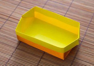 折り紙「はこ」の折り方1 子供にも分かりやすい図解で解説