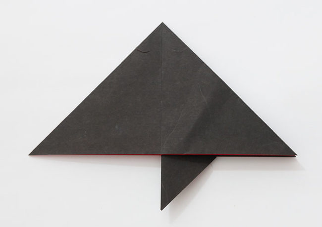 折り紙「こうもり」の折り方