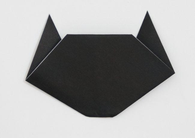 「動物の体」の折り紙の折り方